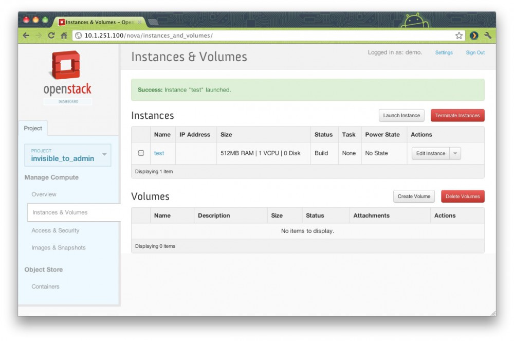 Openstack Manage