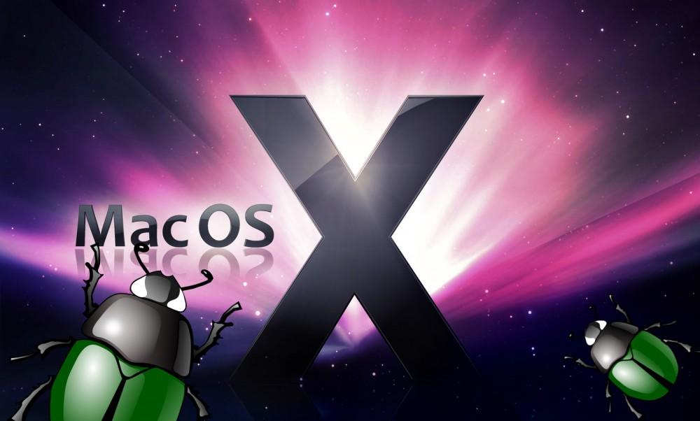 Apple OS X bugs