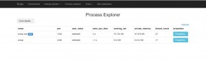 WAP process explorer - where's Kestrell ?